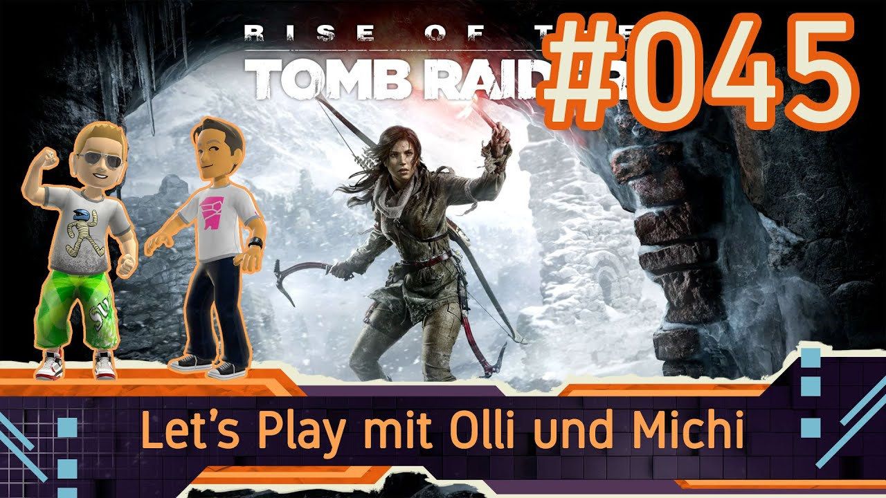 Rise Of The Tomb Raider Let's Play 045 - Im Wasserloch