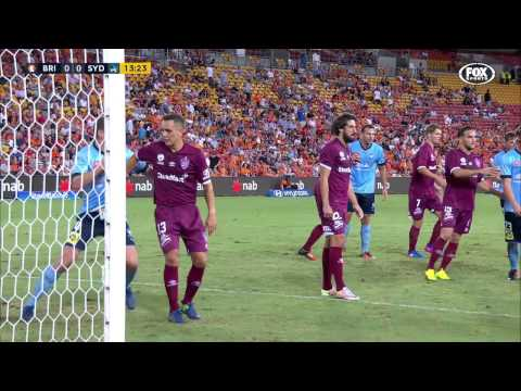 Brisbane ROAR vs Sydney FC  R18 Full Match Replay