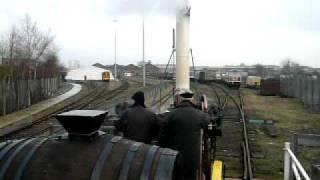 ヨーク国立鉄道博物館のSL体験乗車Stephenson's Rocket