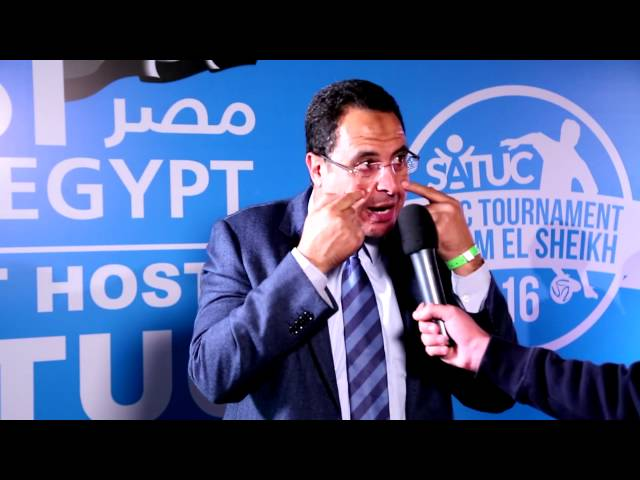 2016 SATUC Tournament, Ashraf Mahmood's speech ( ساتوك - Sheikha Al-Thani)