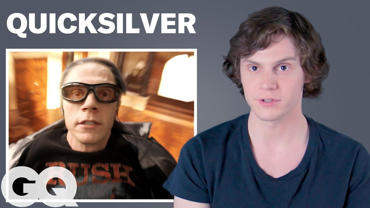 Evan Peters Breaks Down His Most Iconic Characters | GQ
