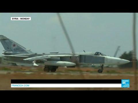 فرانس 24: Syria: Russian warplane in Turkey's airspace
