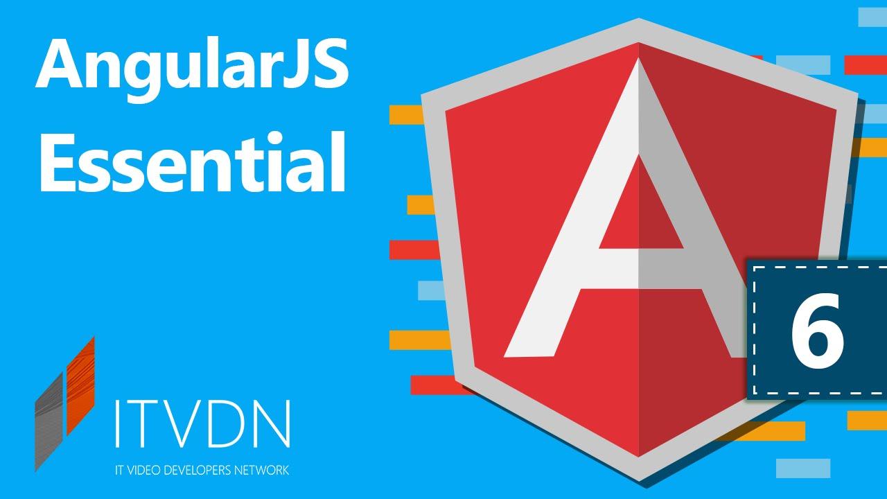 Видеокурс по AngularJS Essential. Урок 6. Создание пользовательских директив