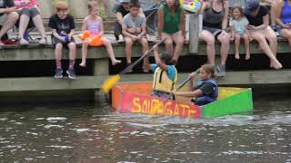 2019 Lake Anne Cardboard Regatta