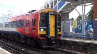 (hd) Swt Class 159 At Wokingham & Reading