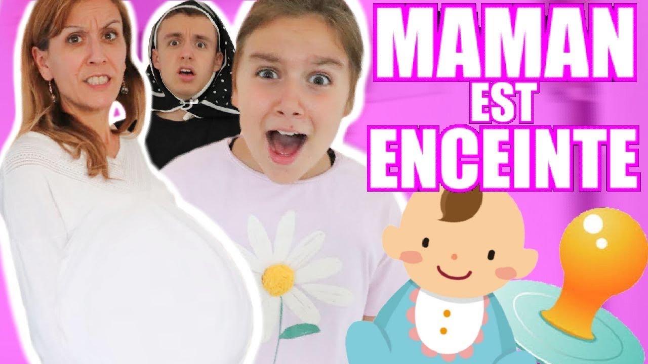 MAMAN EST ENCEINTE ! - PINK LILY VIDÉO [SKETCH HUMOUR]