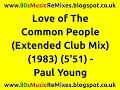 Miniature de la vidéo de la chanson Love Of The Common People (Remix)