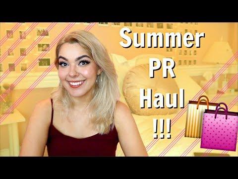 Summer PR Haul! 🎒📲 Designer Bag, Phone Cases, And MORE!!
