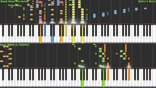 [Black MIDI] TNRea Style - Synthesia - Dance Dance Revolution - Waka Laka 32K notes - FRSNYC