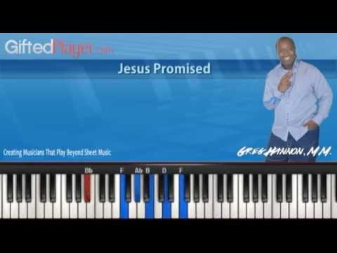 """Piano Lesson Tutorial - """"Jesus Promised"""" By Chicago Mass Choir"""