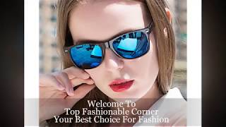 Men Driving Mirrors Coating Points Black Frame Sun glasses | Best Sun glasses 2019