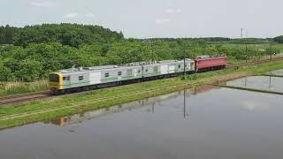 2021.5 常磐線9431M E493系東オク01編成+EF81 81 連結走行試運転