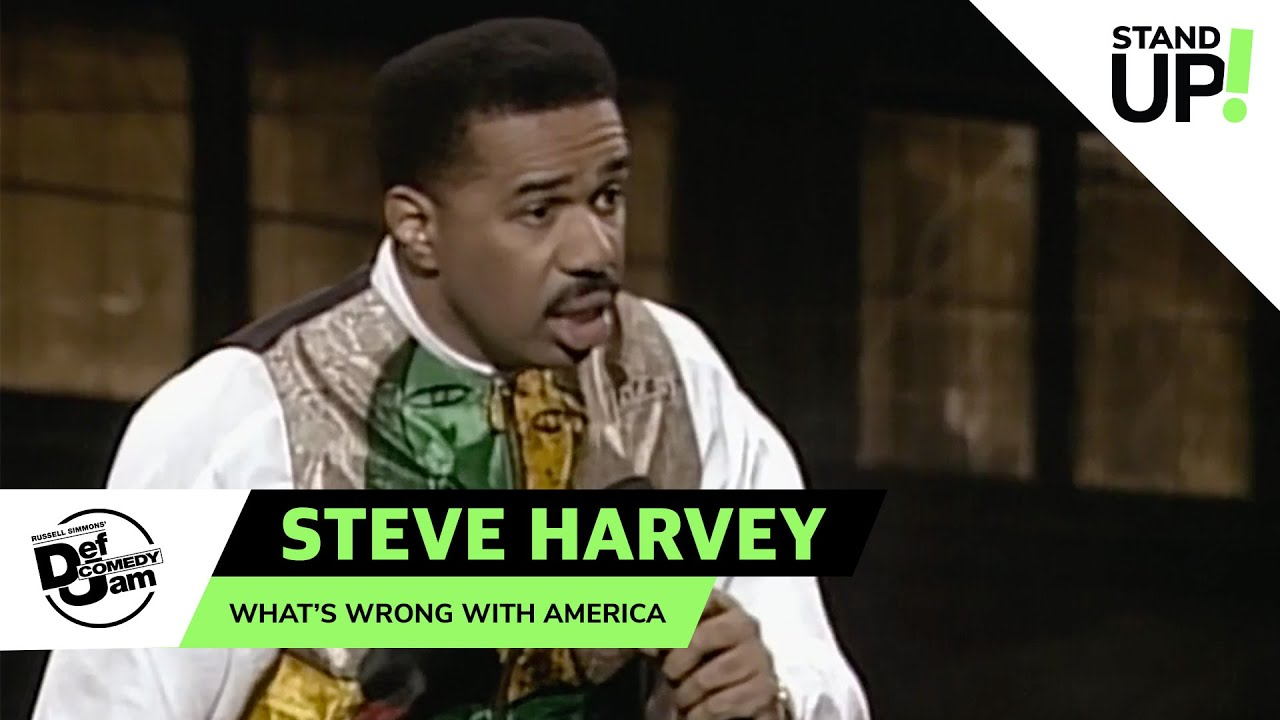 Steve Harvey Knows What's Wrong With America | Def Comedy Jam | Laugh Out Loud Network