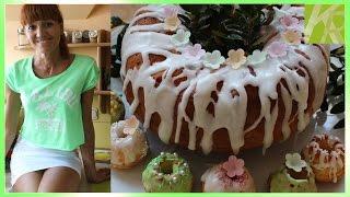 Babka Jogurtowa ( Test Foremek Silikonowych ) [KuchniaRenaty]