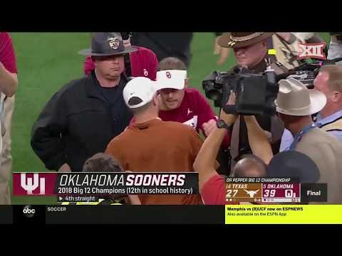 2018 Football Championship Game - Oklahoma vs. Texas Highlights