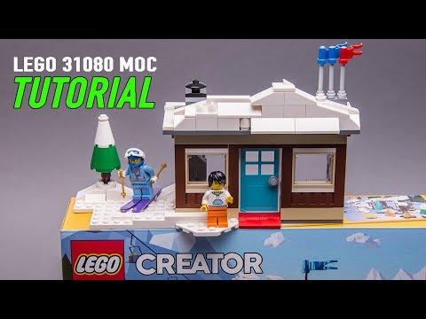 Lego 31080 Alternate Moc Winter Vacation House Instructions Youtube