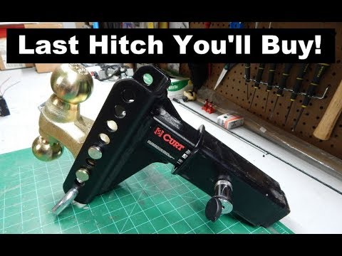 Last Hitch Ever??- CURT 45900 Adjustable Channel Mount