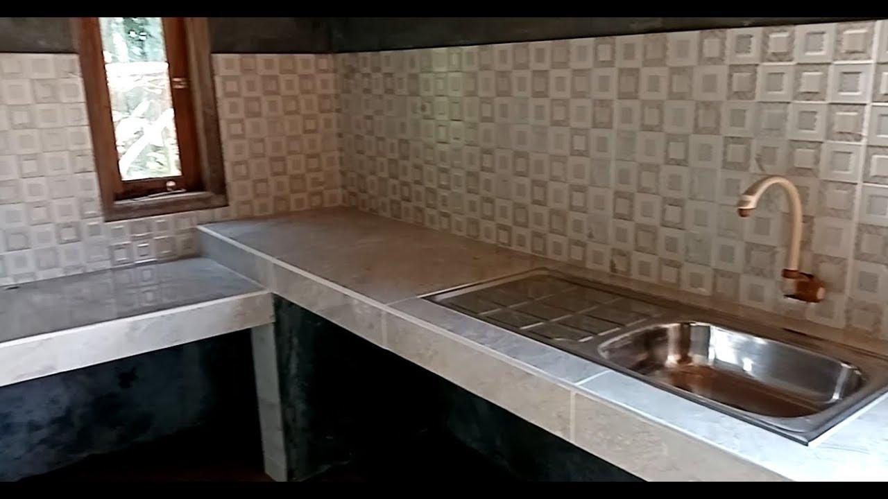 Membuat Dapur Sederhana Sehat Dan Bersih Youtube Dapur sehat minimalis