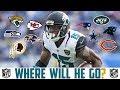 2018 NFL FREE AGENCY PREDICTIONS - ALLEN ROBINSON Jaguars Ravens Jets Bears Niners Cowboys Redskins
