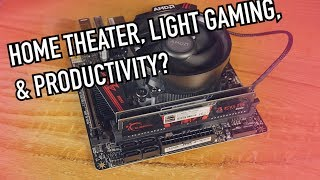 Build an Awesome AMD Living Room HTPC | 2019 - Home Theater, Office, Medium Gaming