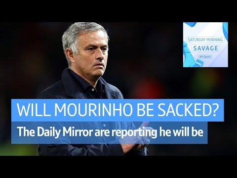 """Jose Mourinho WILL be sacked."" Daily Mirror's David McDonall spoke to Robbie Savage"