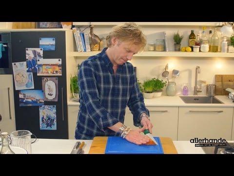 Allerhande kookt met Bart van Olphen afl. 3 - zalmcarpaccio