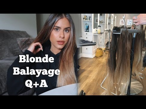 Come To The Salon With Me | Blonde Balayage Q+AKaynak: YouTube · Süre: 16 dakika18 saniye