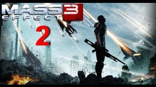 Mass Effect 3 Walkthrough - Part 2 HD / Прохождение Mass Effect 3 - Часть 2 HD - Mars