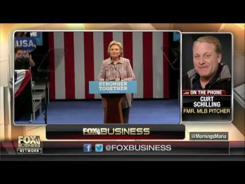 Curt Schilling talks potential political run