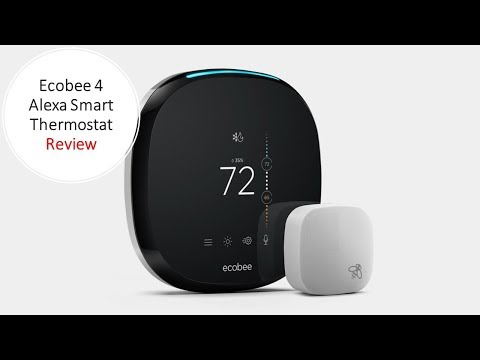 Ecobee 4 Alexa Smart Thermostat | Review