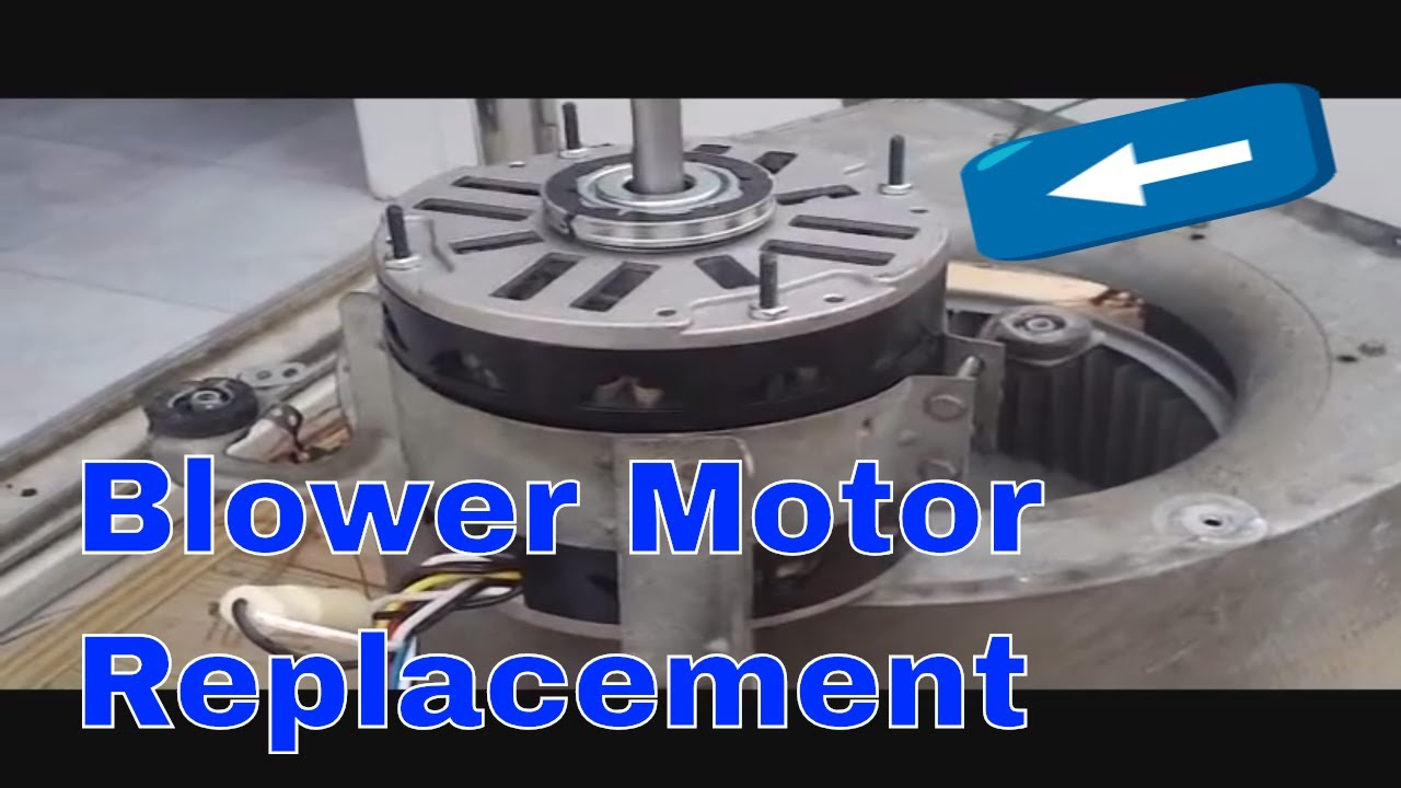 Hvac Service Blower Motor Replacement And More Youtube Mdc300120151 Brushless Speed Controllers 1hp Over