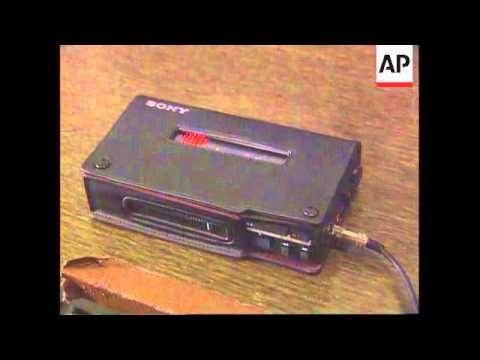 Bosnia - Hostage Radio Transmission