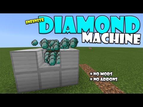 INFINITE DIAMOND MACHINE | Minecraft PE