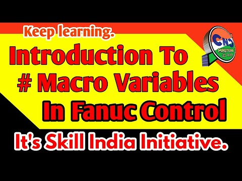 Introduction to # Macro Variables in Fanuc Control  CNC PROGRAMMING