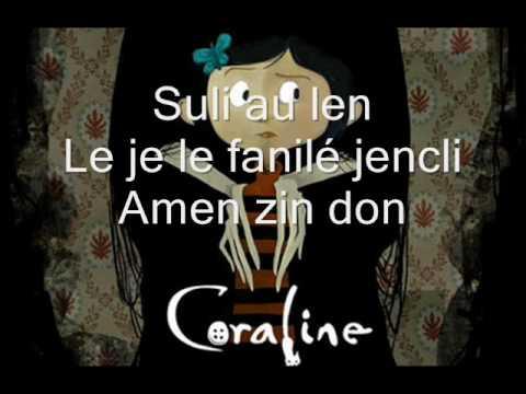 Exploration-Coraline with lyrics