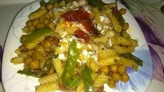 बनाएं पास्ता चाट|| pasta chaat