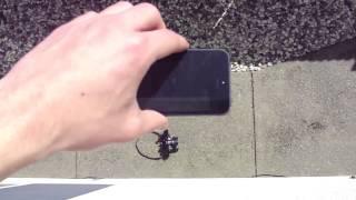 iPhone 5 сбросили со второго этажа(, 2013-06-10T13:51:14.000Z)