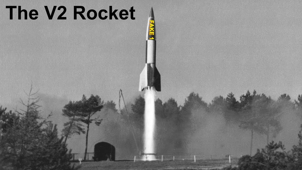 The V2 Make Believe Rocket - 100% Fear!!