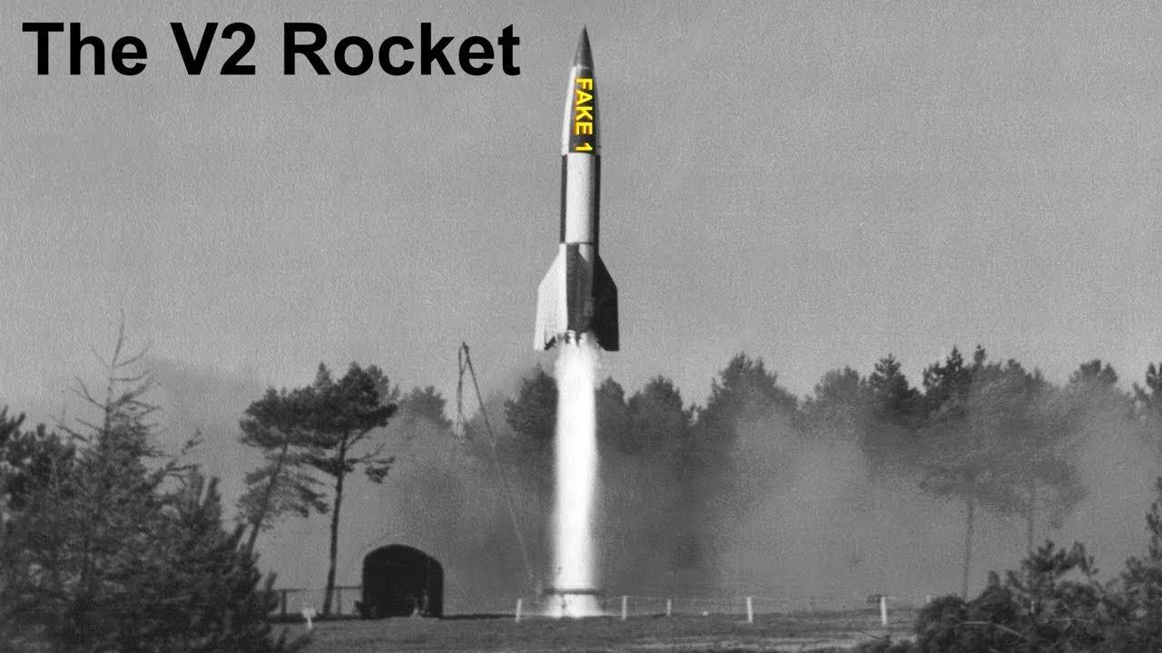 The V2 Make Believe Rocket - 100% Fear!!