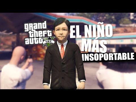 EL NIÑO MÁS INSOPORTABLE DE GTA LIFE