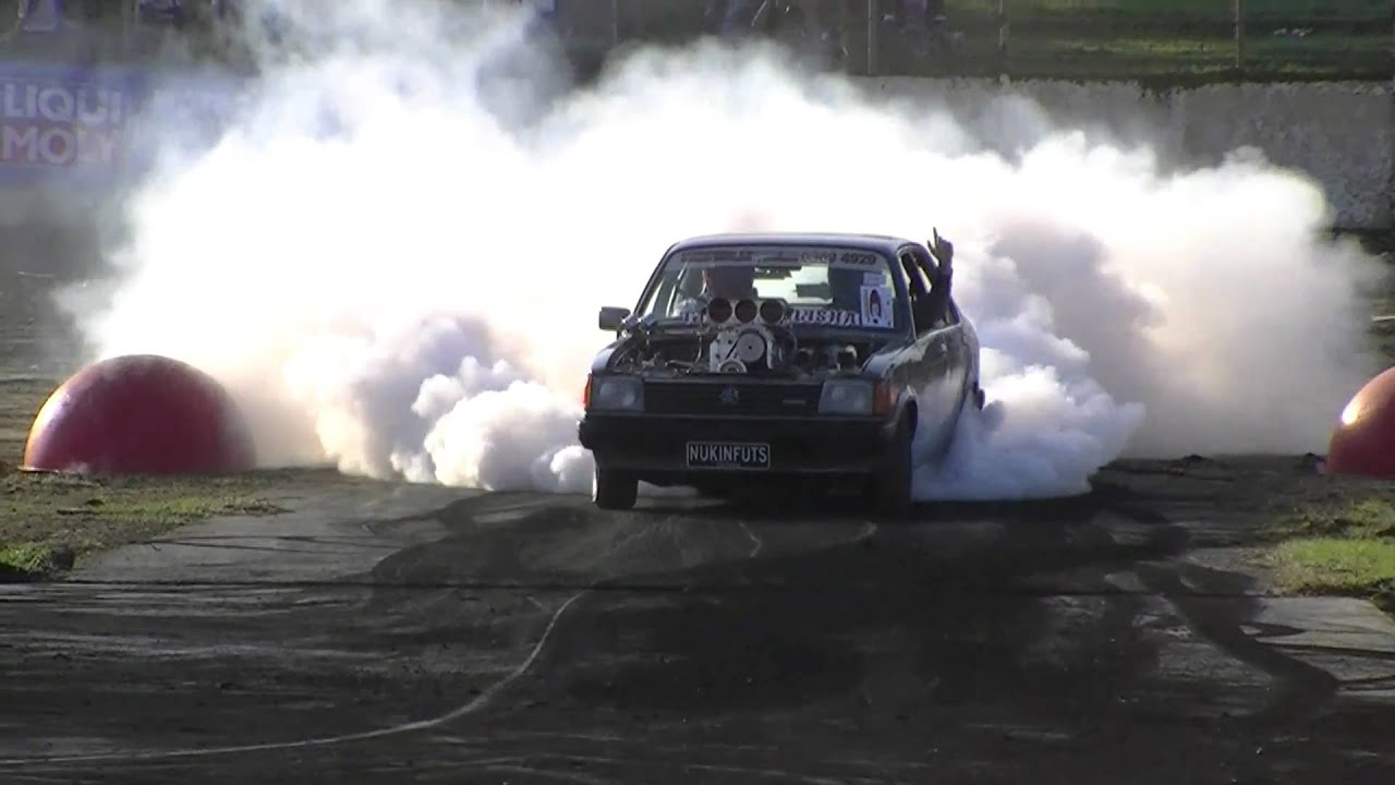 NUKINFUTS Blown Alcohol Injected Gemini at Ultimate Burnout Challenge 2011
