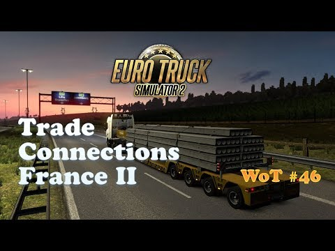 [ETS2] Liège (Belgium) to Lille (France) / Trade Connections France Event / 9th Leg