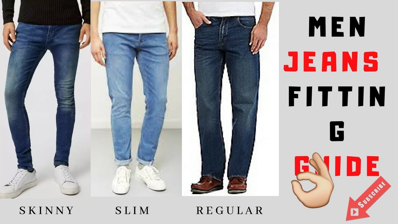 7fe9fdcc men jeans fitting guide men fashion india 2018. - YouTube
