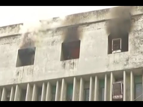 Lucknow: Sales Tax office catches fire