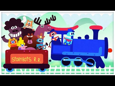 """Riding on a Train,"" The Train Song by StoryBots"