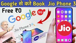 Google Se Karo Book Jio Phone 3