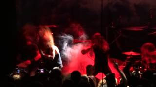 "Skeletonwitch - ""This Horrifying Force,"" ""I Am of Death"" and ""Burned From Bone"" (Live in SD 2-16-14)"