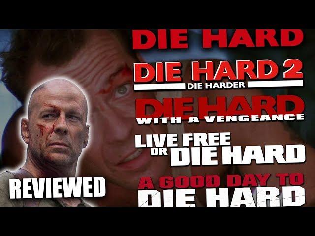 Ranking EVERY Die Hard Movie