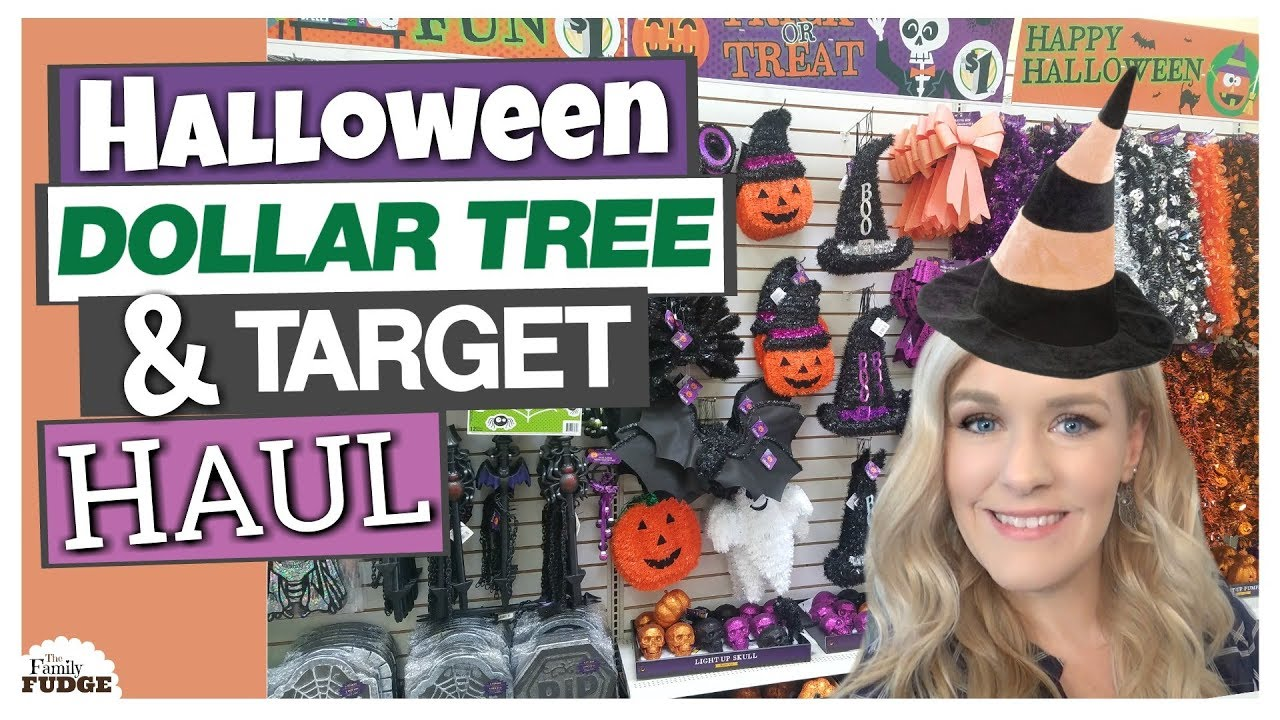 dollar tree target halloween haul 2017 - Target Halloween Tree
