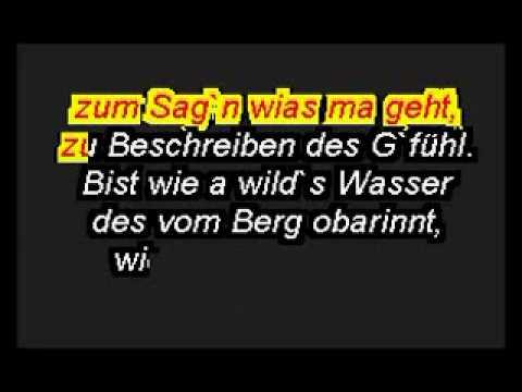 Karaoke-A Wild's Wasser - Seer.flv